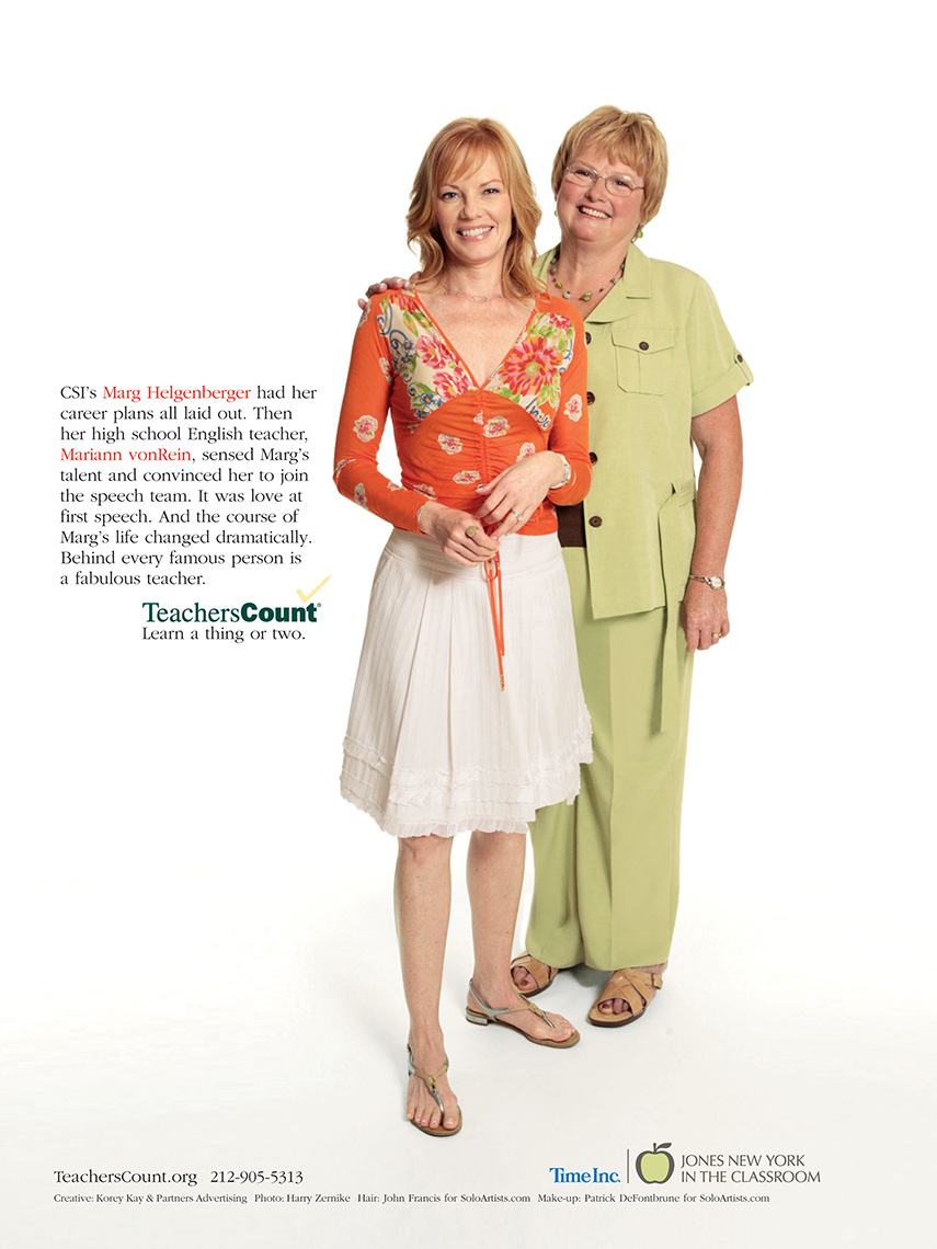 Marg Helgenberger for Teachers Count