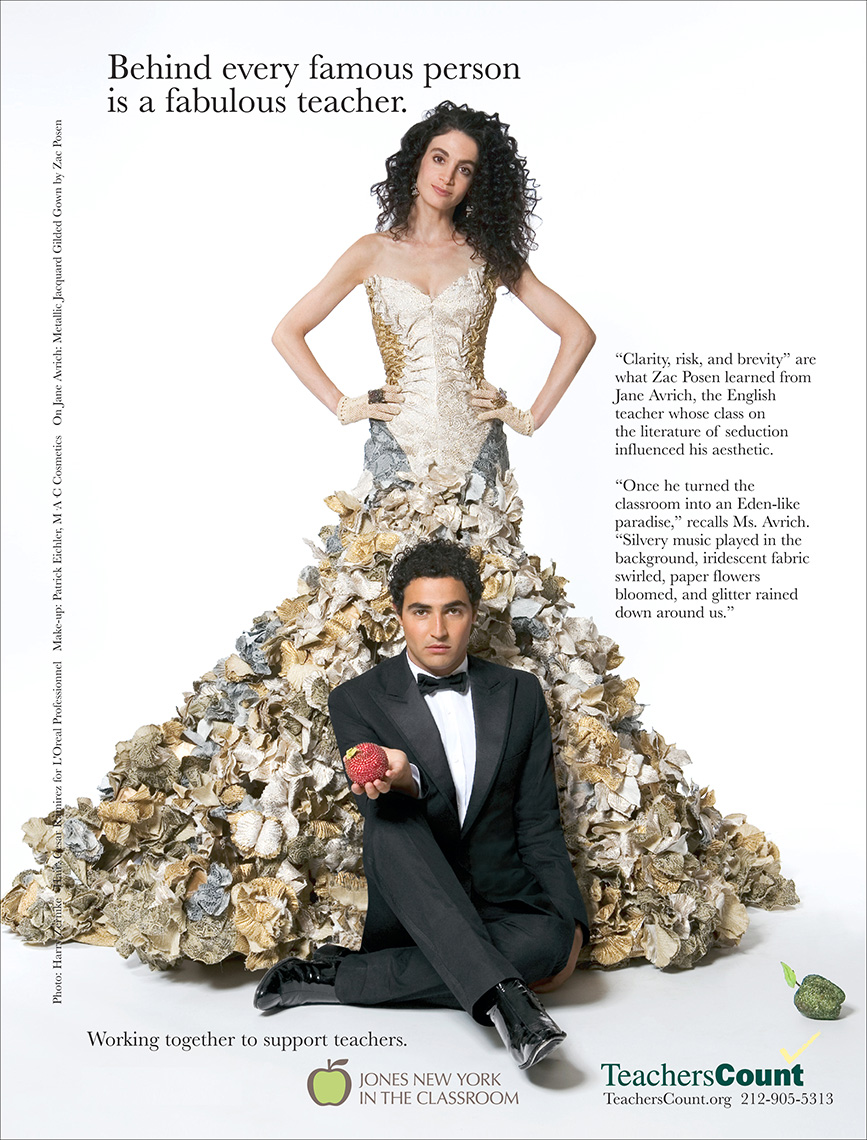 Zac Posen for Teachers Count